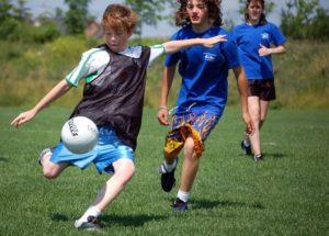 children_playing_gaelic_football_ajax_ontario